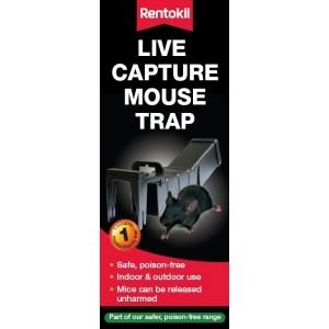 Rentokil Live Capture Mouse Trap