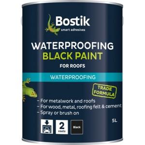 Bostik Bituminous Waterproofing Black Paint