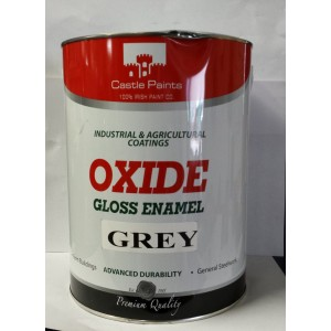 Castle Paints Castle Oxide Gloss Enamel 5 Litre