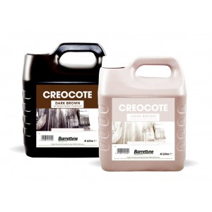 Bartoline Creocote Timber Treatment 4 Litre