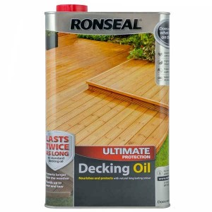 Ronseal Decking Oil 5 Litre