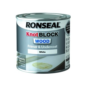 Ronseal Knot Block Wood Primer & Undercoat White