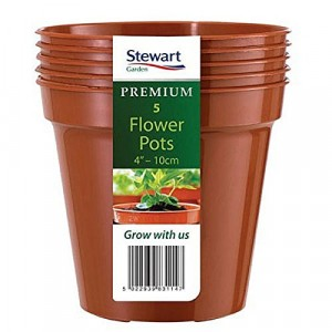 Stewart Flower Pot Pack Terracotta Colour