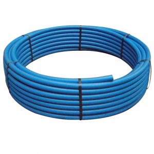 Blue MDPE Water Pipe