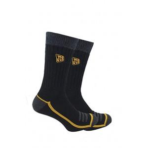 JCB Outdoor Activity Comfort Top Boot Socks Pack 2