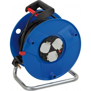 Brennenstuhl Garant 3-Way Socket Outlet Cable Reel