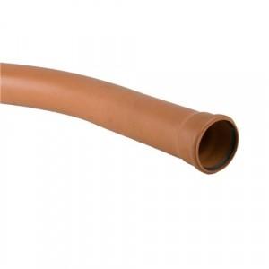 Sewer Long Radius Bend 110mm Single Socket