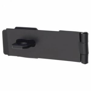 Safety Hasp & Staple Black