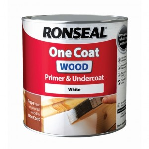 Ronseal One Coat Wood Primer & Undercoat White