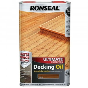 Ronseal Ultimate Protection Decking Oil 5 Litre