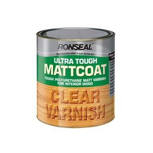 Ronseal Ultra Tough Clear Varnish