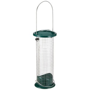 Peckish All Weather Metal Peanut Bird Feeder - Large
