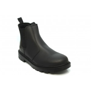 Grafters Safety Boot Chelsea Style Black