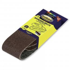 Prosolve Sanding Belts 100 x 610mm Pk3