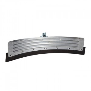 Yard Scraper - Galvanised - Curved with Bracket