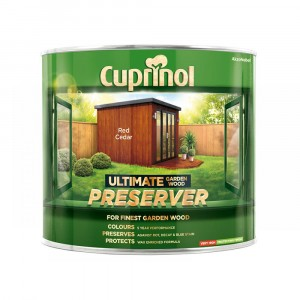 Cuprinol Ultimate Garden Wood Preserver 4 Litre