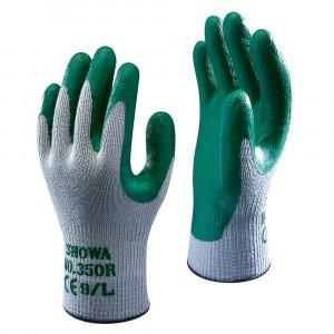 Showa Thorn Master Nitrile Glove 350R Green