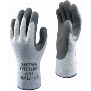 Showa Thermo Grip Gloves Grey
