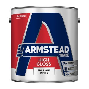 Armstead Gloss Paint Brilliant White